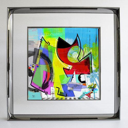 VanLuc Digital Art Vache de Lumière