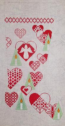 Danish Heart Stocking