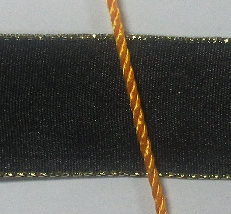 Black ribbon and yellow orange cord for ANG project
