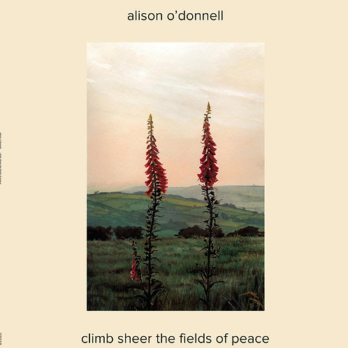 Alison O'Donnell Climb Sheer The Fields Of Peace vinyl LP