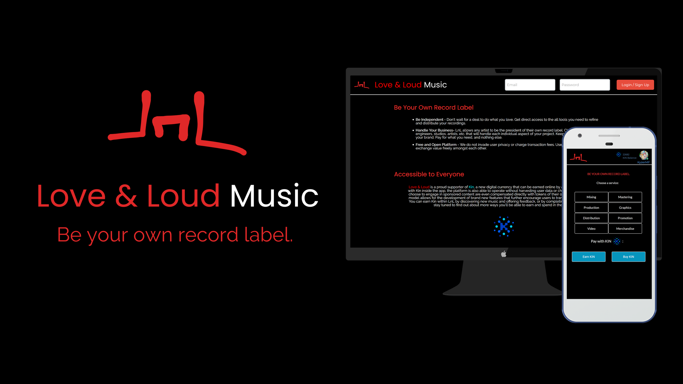 Privacy Policy | Love & Loud Music: Be Your Own Record Label