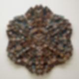 Decoratve tile, handmade tile, fine art ceramics