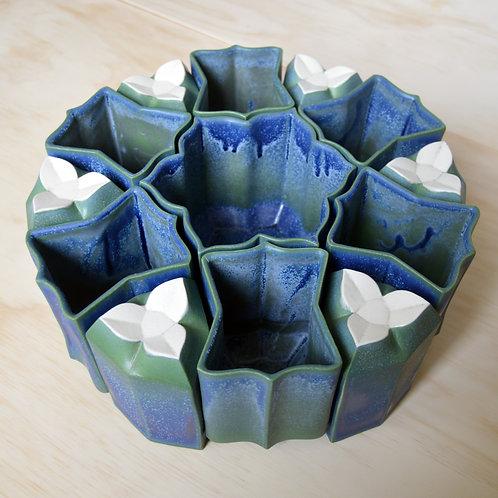 Hexa Vase Set