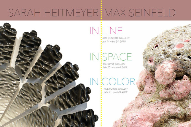 IN LINE - A Three Part Show by Sarah Heitmeyer & Max Seinfeld