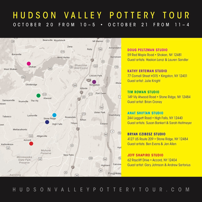 Hudson Valley Pottery Tour