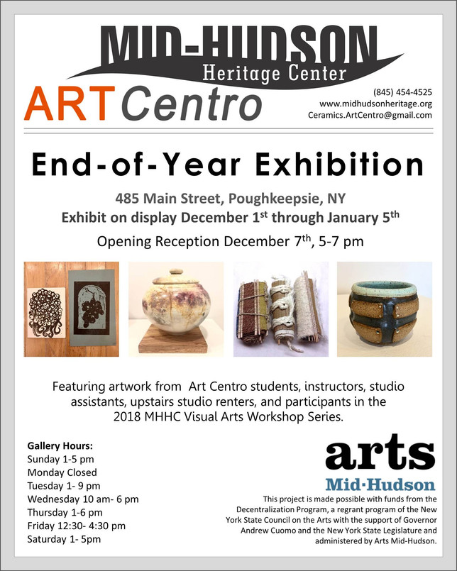 Art Centro End of Year Exhibit