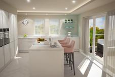 Silver Gates - Kitchen view