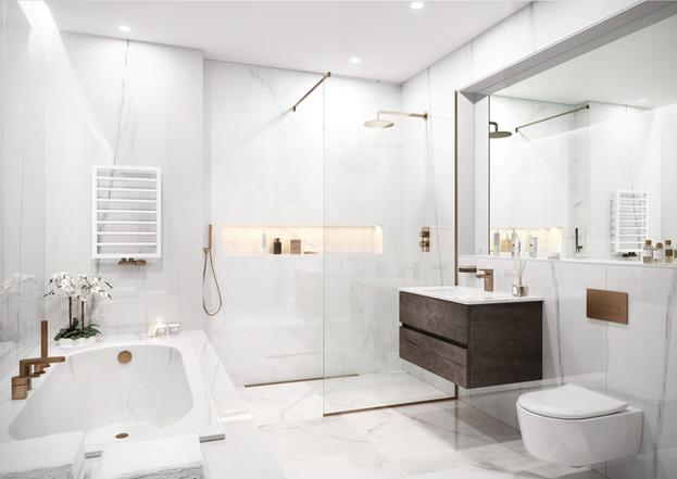 Silver Gates - Bathroom