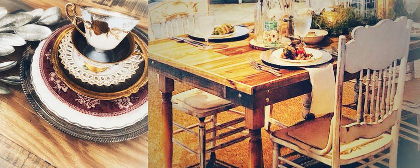 Handmade Farm Tables