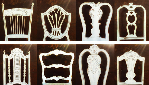 Shabby Dining Chairs