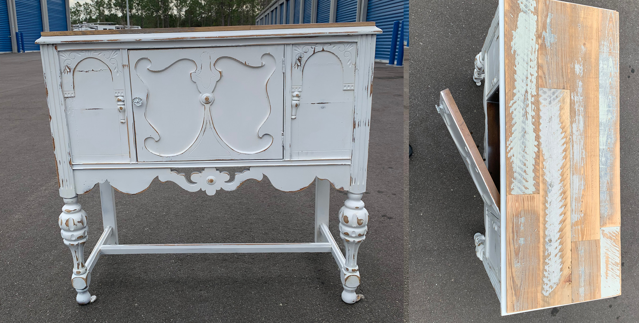 Our White Shabby Furniture