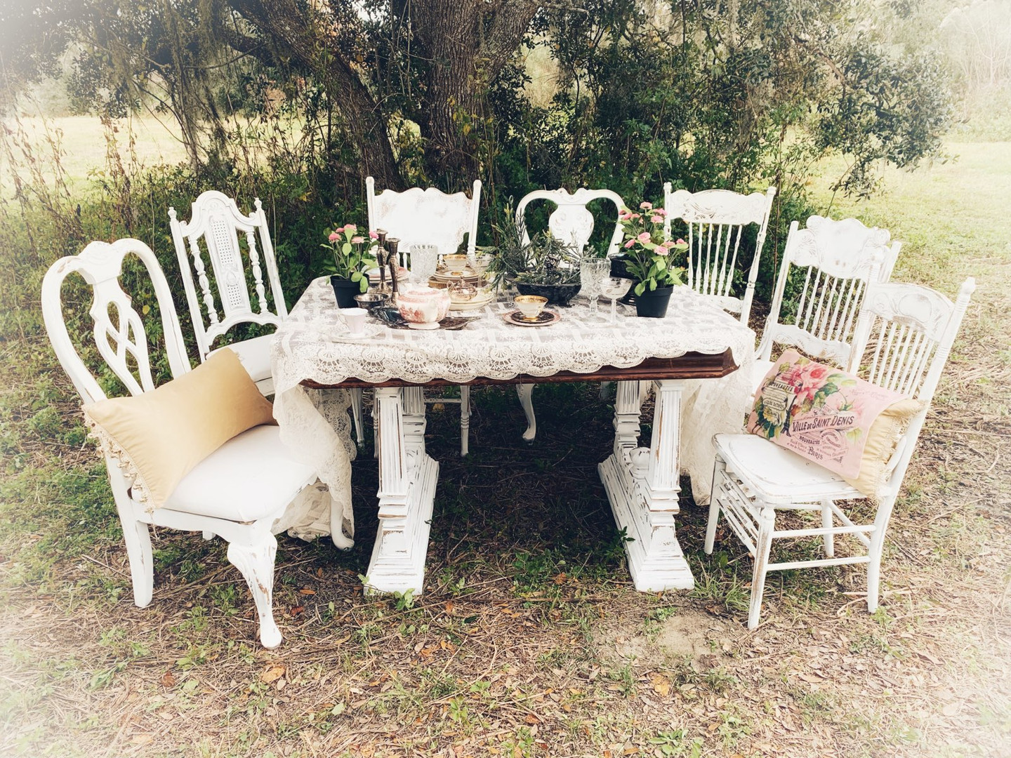 Our Shabby Tea Party