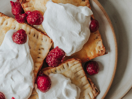 homemade raspberry pop tarts