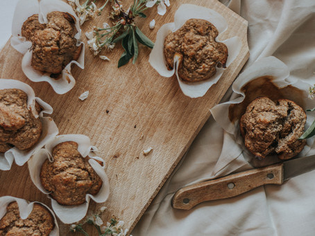 healthy and delicious banana bread muffins