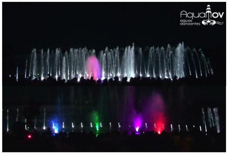 Aguas danzantes - Monte Caseros