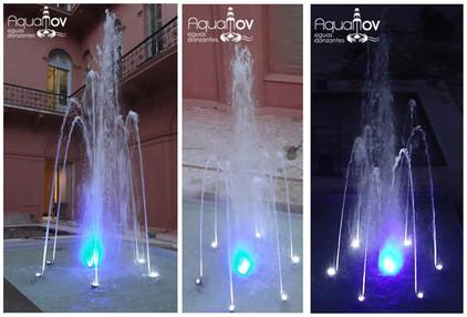 Fuente patio interno - Casa Rosada