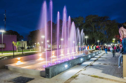 Plaza principal, Saturino M. Laspiur