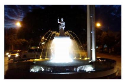 Fuente de agua - Diosa Ceres