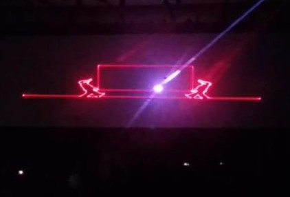 Laser Show 3D RGB Gráfico