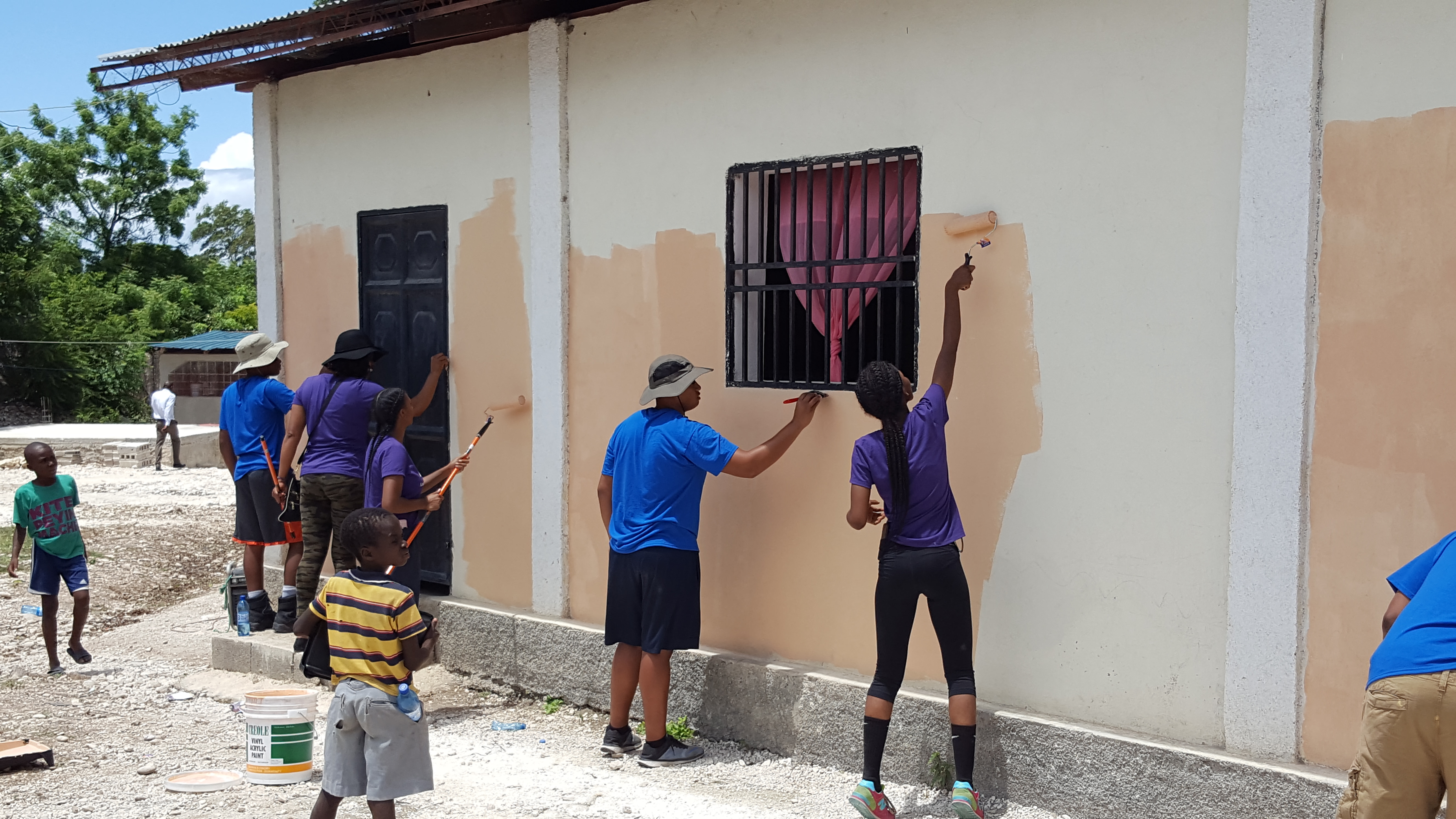 Haiti Painting Church