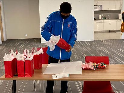 w - Joshua preping the bags.jpg