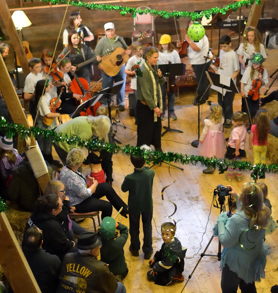 Soundfalls Facilitates the Irish Bash