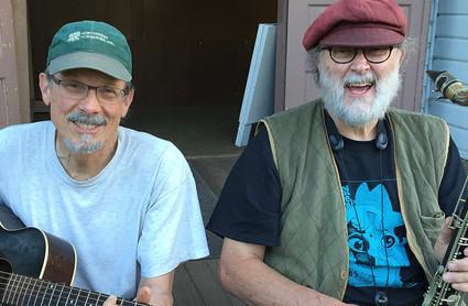 Stuart Brune and Denny Redman
