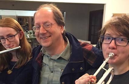 Elena, Tom and Erin Moore