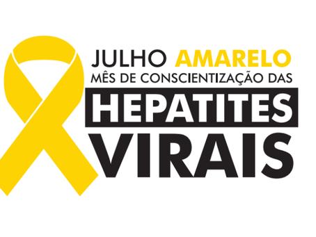 Julho amarelo e o combate as hepatites virais
