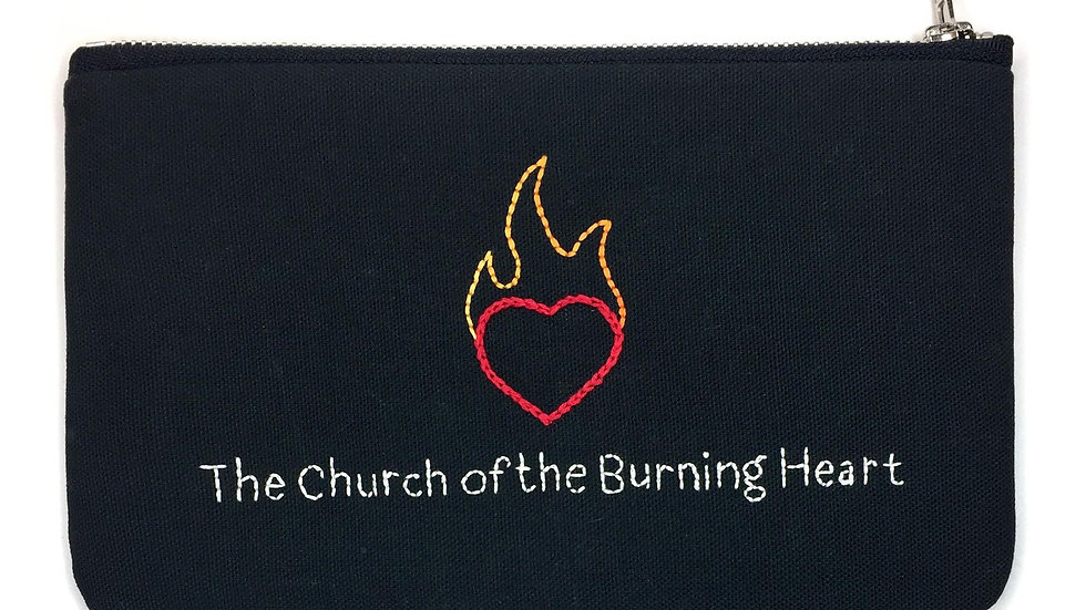 Burning Heart Lyric Bag