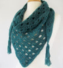 Lake Michigan Scarf crochet pattern debu