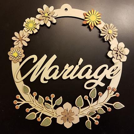 couronne mariage lille décoration mariage