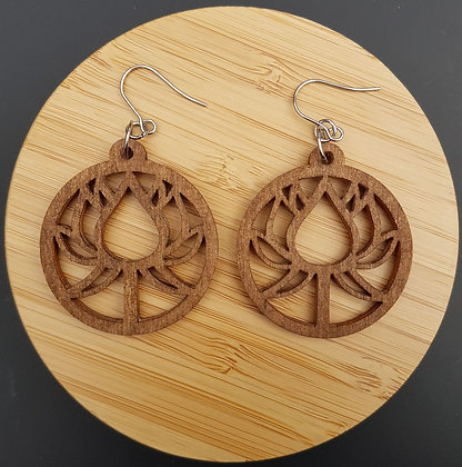 "Boucles ""lotus ées"""