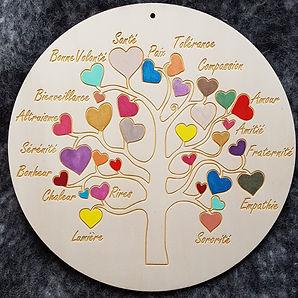 arbre de vie décoration personnalisée