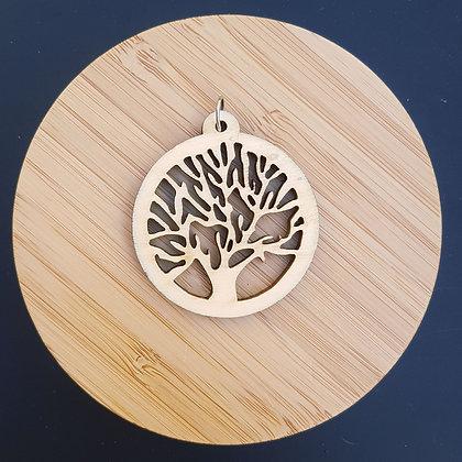 """Collier """"l'arbre au naturel"""""""