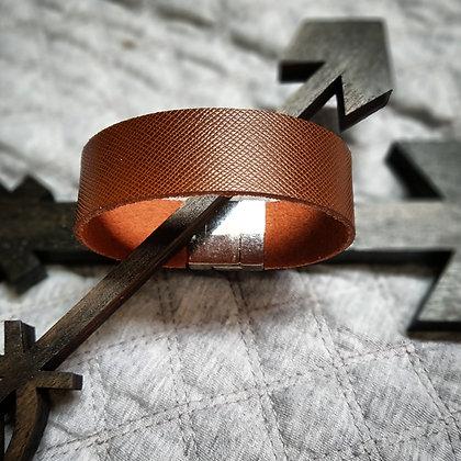"""Bracelet """"cuir tramé"""""""
