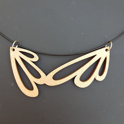 """Collier """"feuille 2"""""""