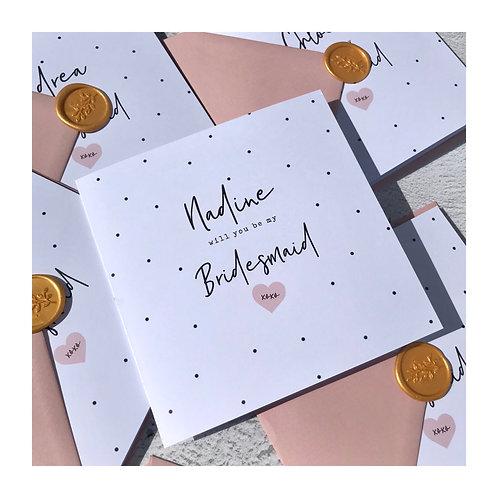 Mini Polka Proposal Cards