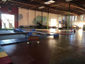 Gym Climbing Net and Gymnastics