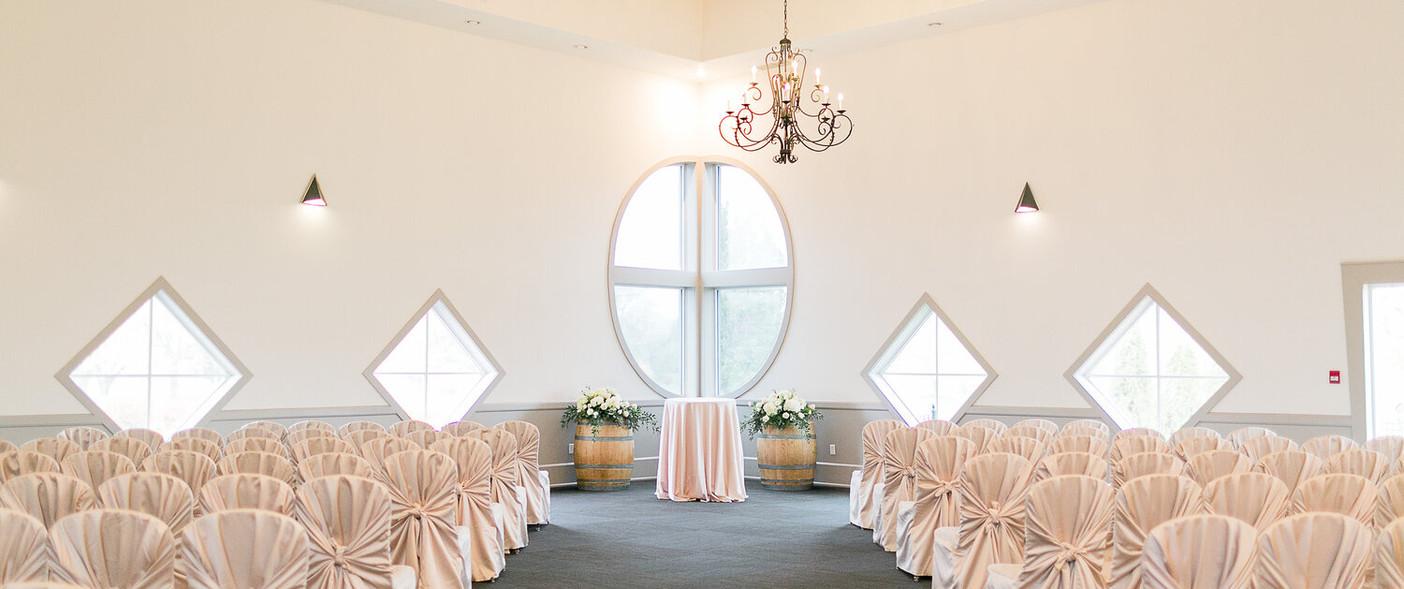 ceremony indoors