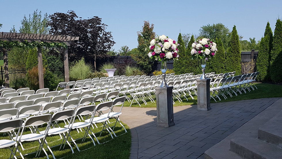 perfect courtyard ceremonies