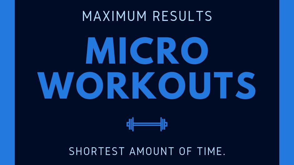 MICRO WORKOUTS - 30 DAY PROGRAM
