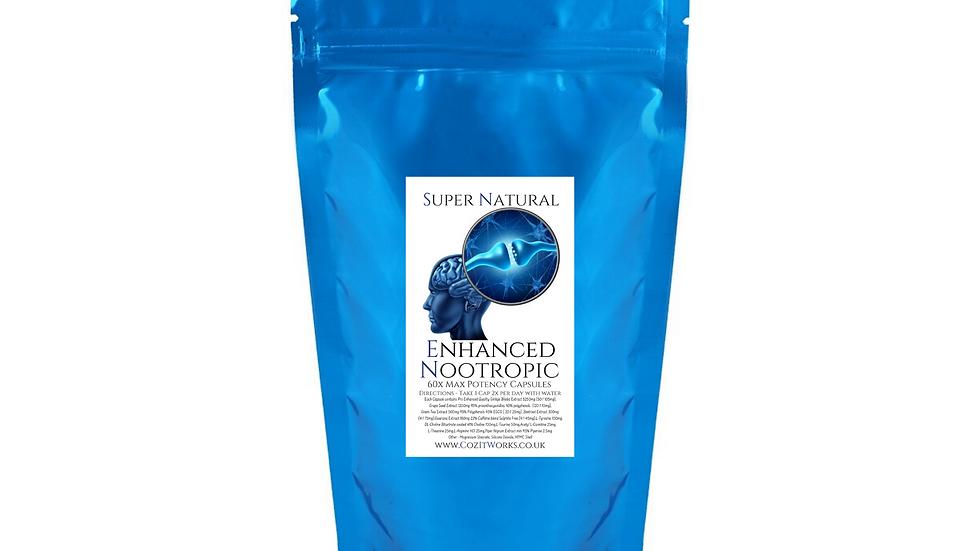 Enhanced Nootropics - Super Natural Brain Fuel