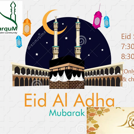 Second Eid Salat  8:30 AM