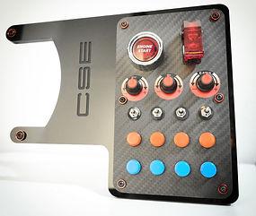 Button box for Fanatec