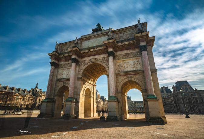 L'arc de Triomphe du Carousell