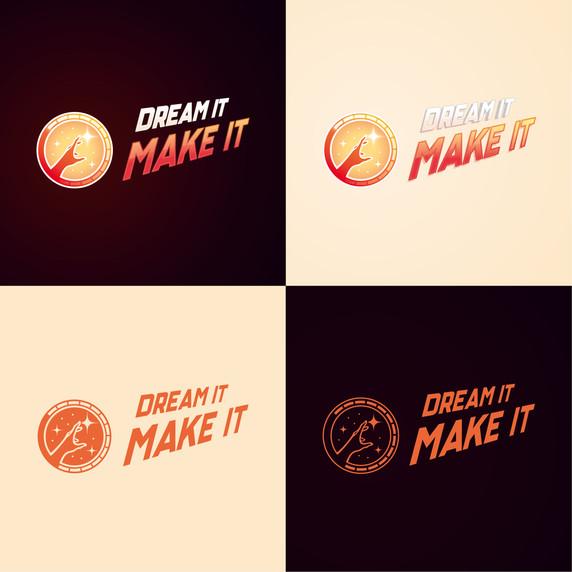 Logotype Dream It Make It