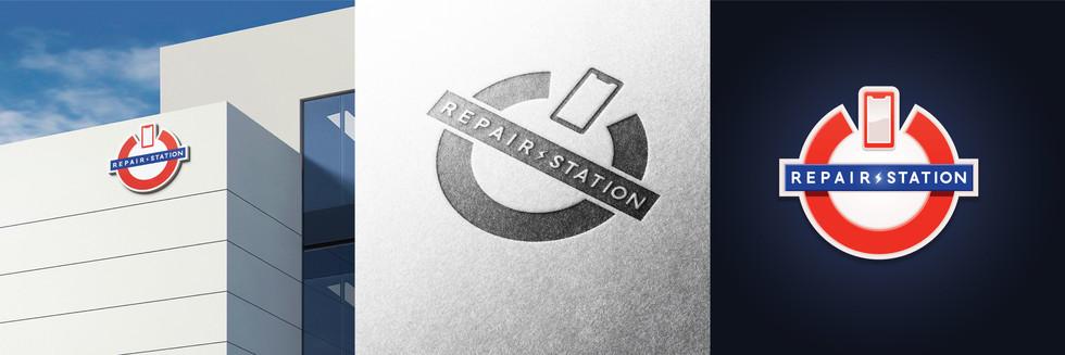 Présentation du logotype Repair Station