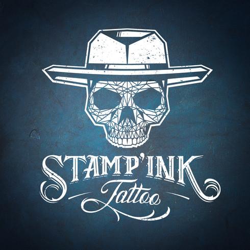 Logotype Stamp'Ink Tatoo