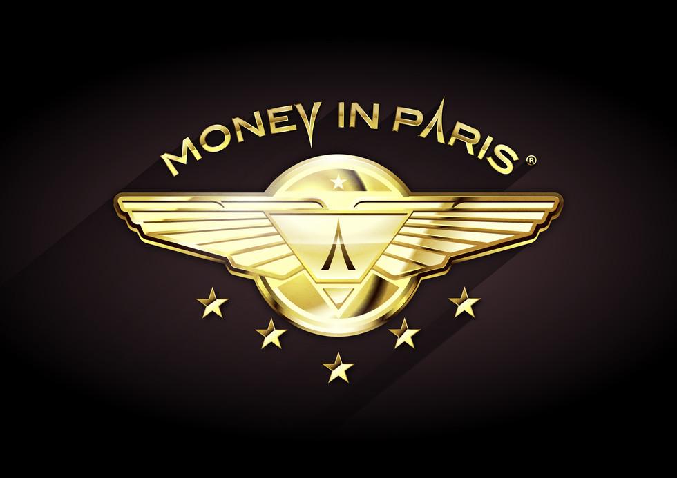 Logotype Money In Paris